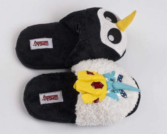 Ice King And Gunter Adventure Time Slippers 4