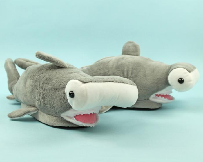 Hammerhead Shark Slippers 1