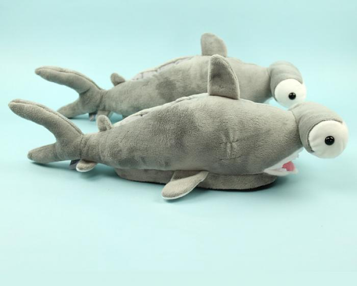 Hammerhead Shark Slippers 2