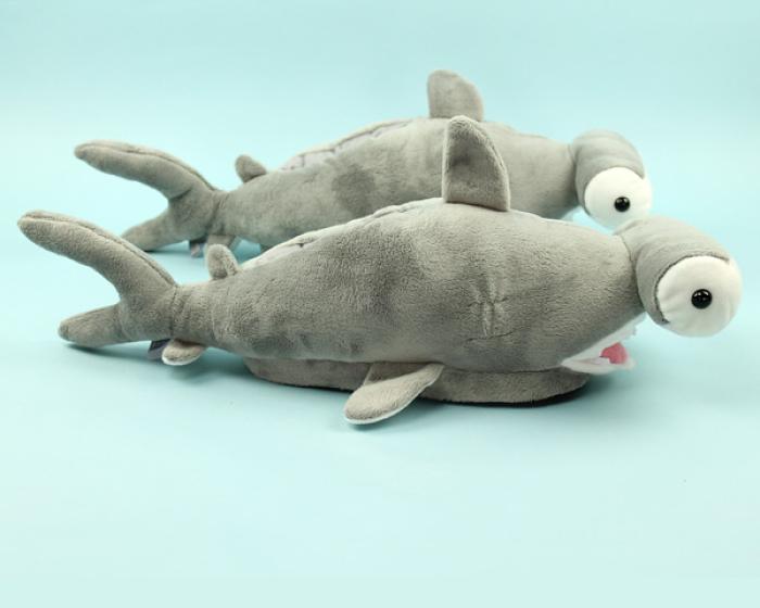 Hammerhead Shark Slippers 2