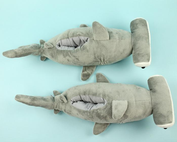 Hammerhead Shark Slippers 4