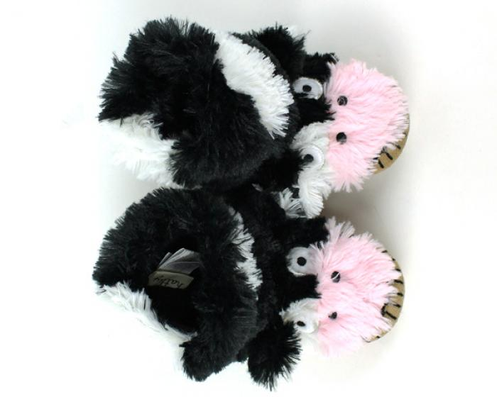 Children's Cow Slouch Slippers 4