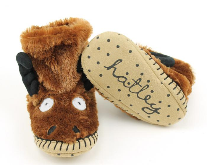 Children's Moose Slouch Slippers 3