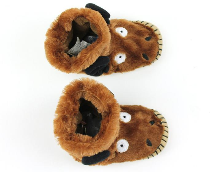 Children's Moose Slouch Slippers 4
