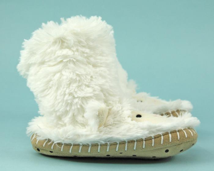 Kids Lamb Slouch Slippers 2