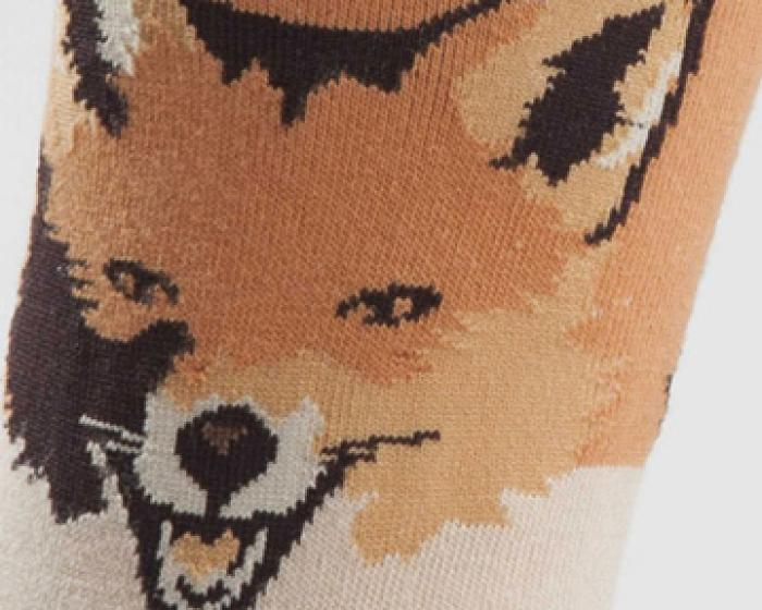 Fox Socks Detail