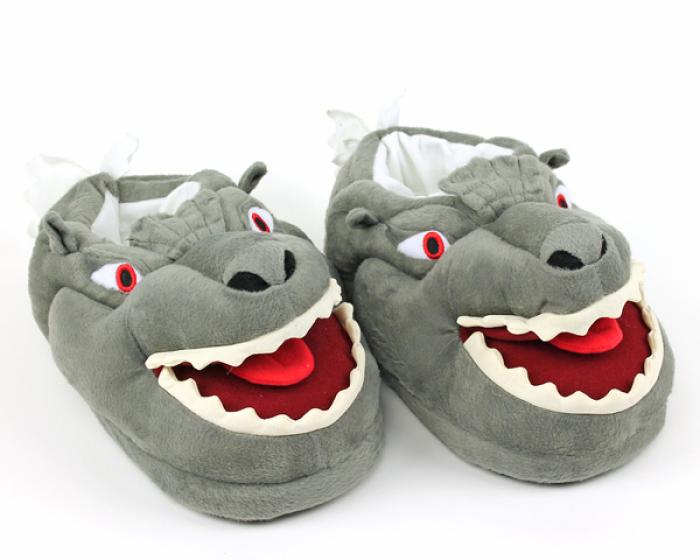 Godzilla Slippers 1