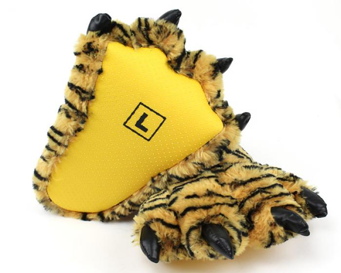 Tiger Paw Slippers 3