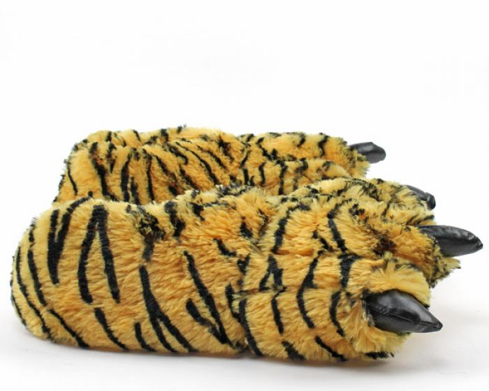 Toddler's Tiger Paw Slippers 2