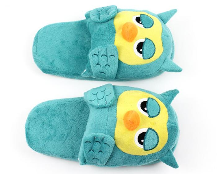 Owl Slipper Top Down