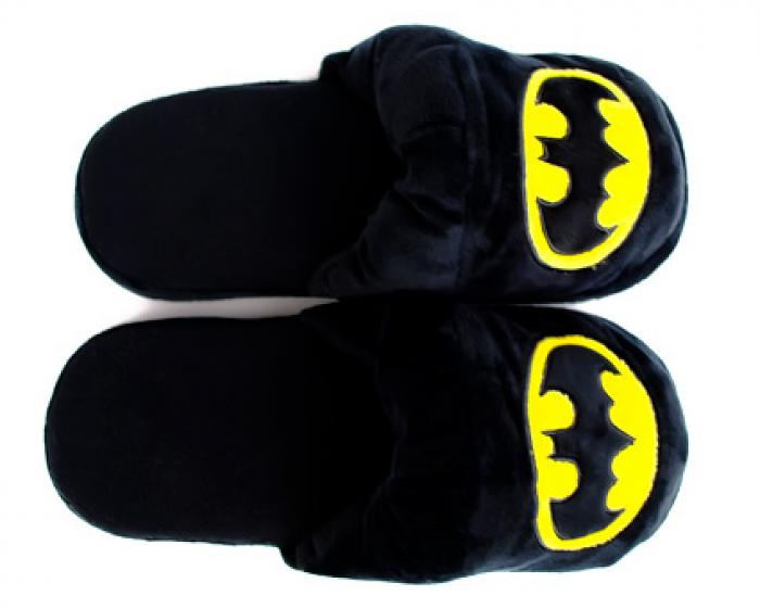 Batman Slipper Top Down