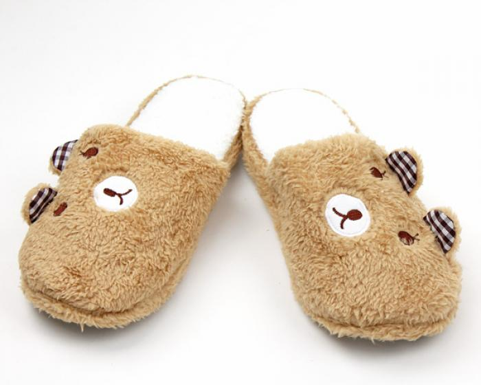 Teddy Bear Slippers 1