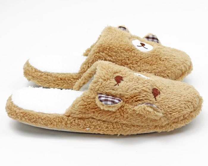Teddy Bear Slippers 2