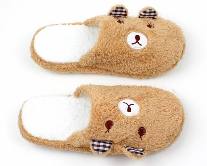 Teddy Bear Slippers 4