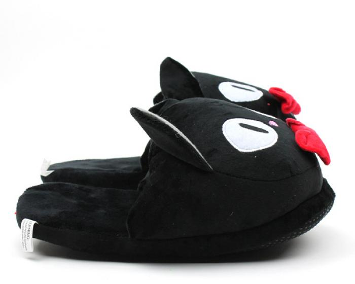 Jiji the Black Cat Slippers 2