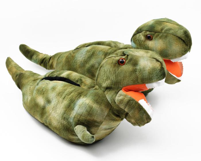 T Rex Dinosaur Slippers 1