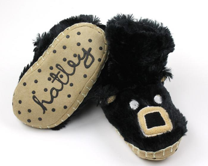 Kids Bear Slouch Slippers 3