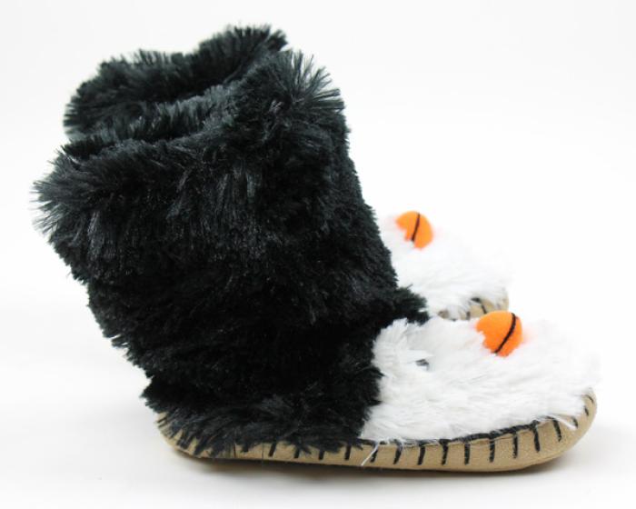 Penguin Slouch Slippers 2