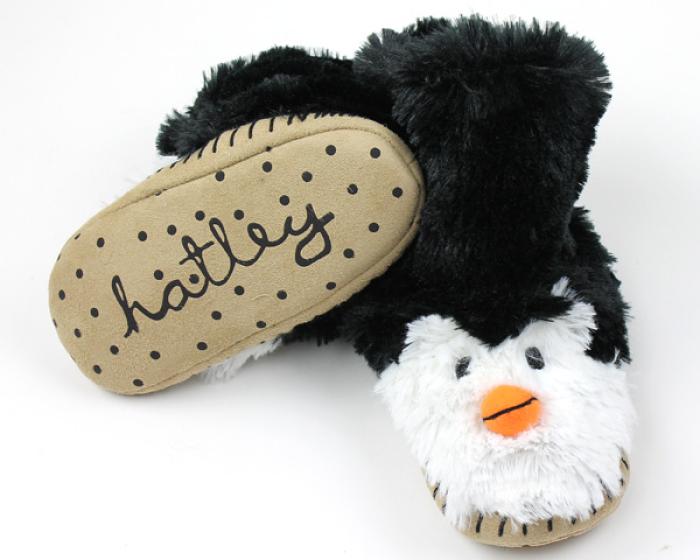 Penguin Slouch Slippers 3