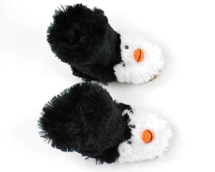 Penguin Slouch Slippers 4