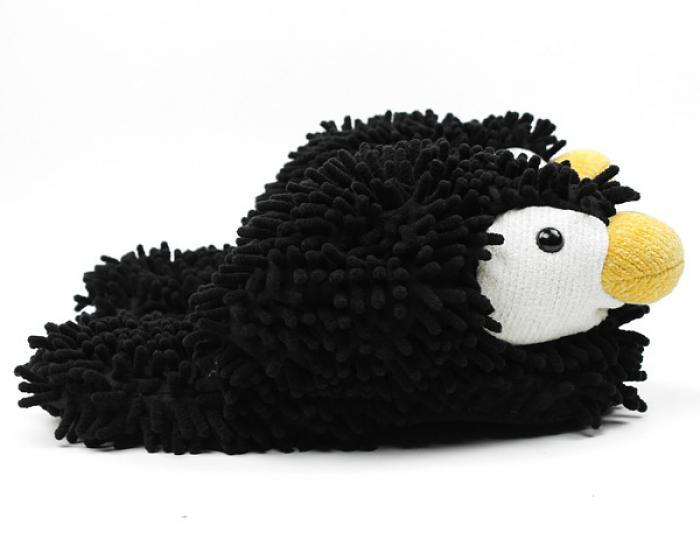 Fuzzy Friends Penguin Slippers 2