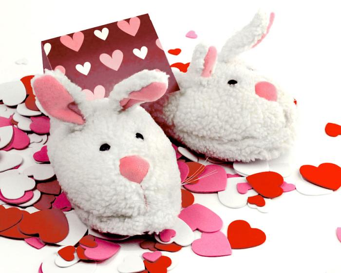 BunnyGram Valentines detail