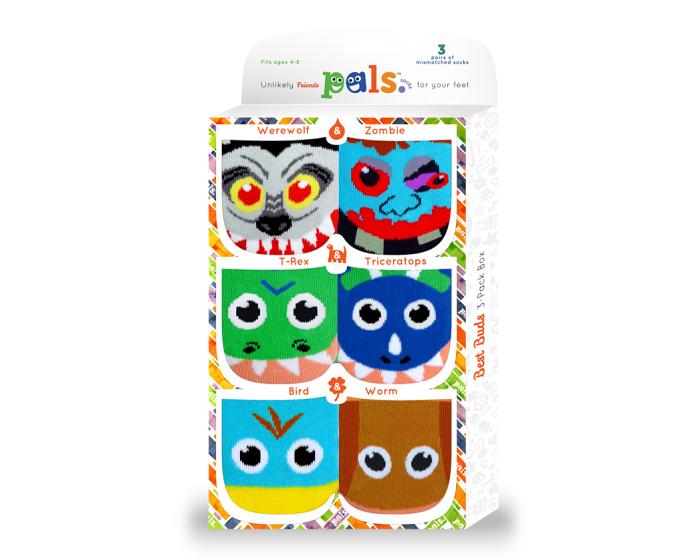 Pals Socks Best Buds Gift Box