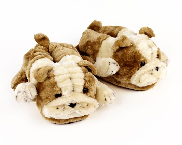 Bulldog Slippers 1
