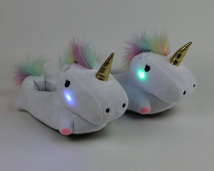 Unicorn Light Up Slippers View 6