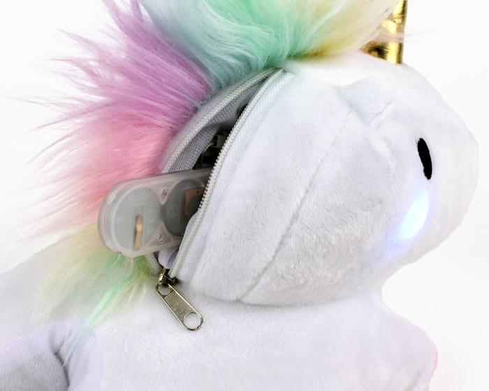 Unicorn Light Up Slippers View 5