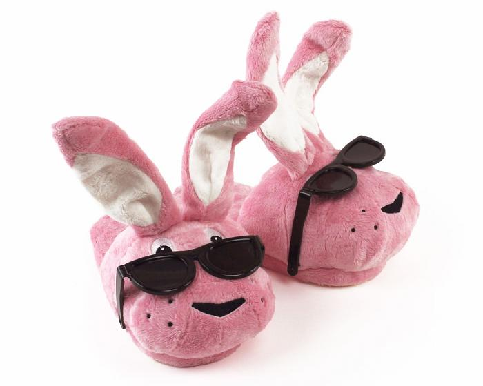 Energizer Bunny Slippers 3/4 View