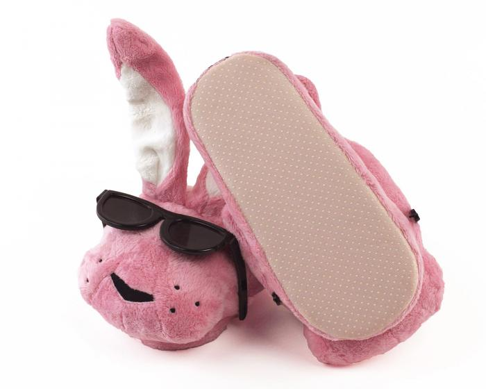 Energizer Bunny Slippers Bottom View