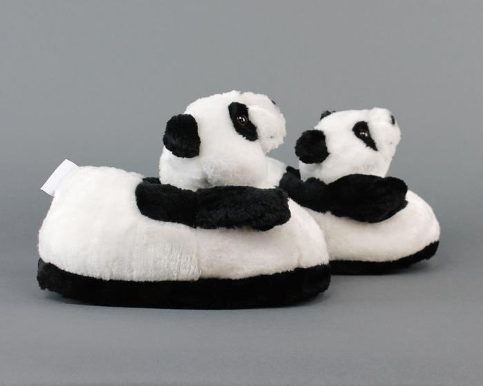 Panda Slippers Side View