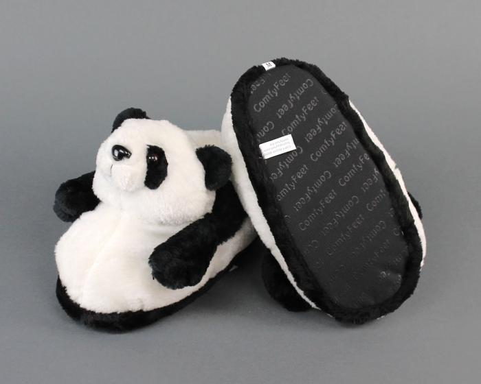 Panda Slippers Bottom View