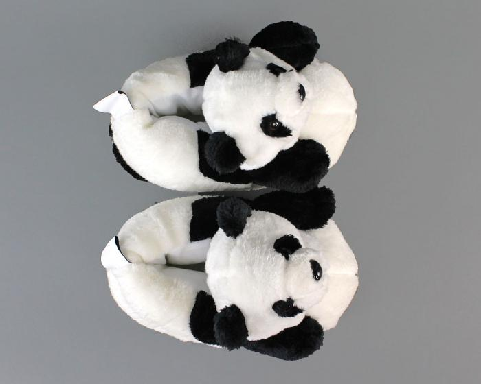 Panda Slippers Top View