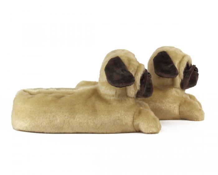 Pug Slippers Side View