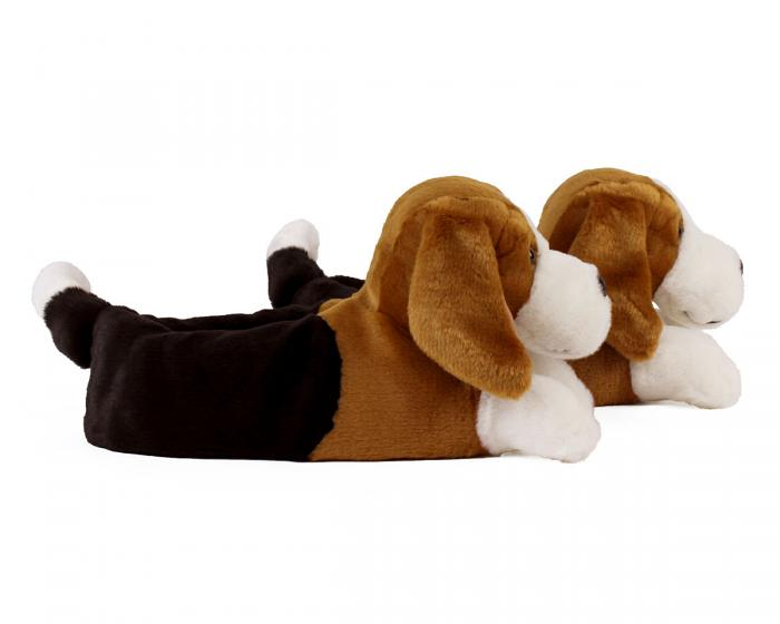 Beagle Slippers Side View