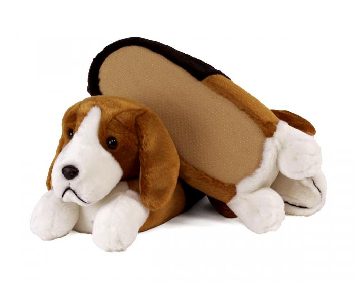 Beagle Slippers Bottom View