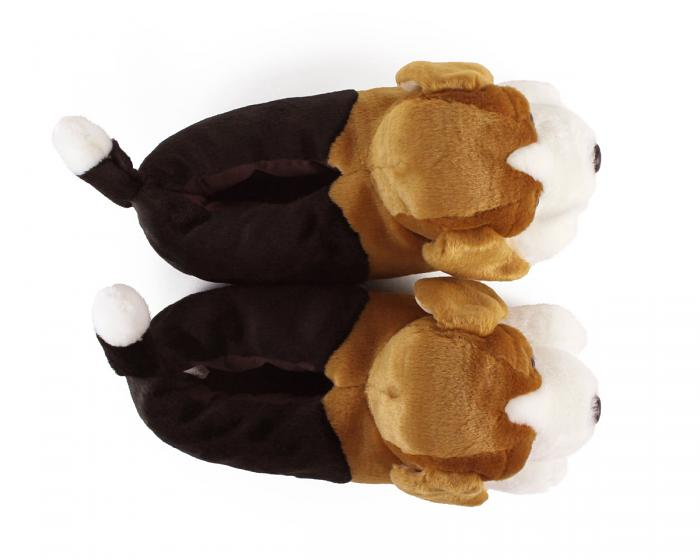 Beagle Slippers Top View