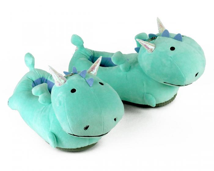 Dragon Light Up Slippers 3/4 View