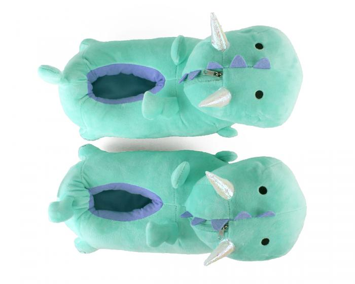Dragon Light Up Slippers Top View