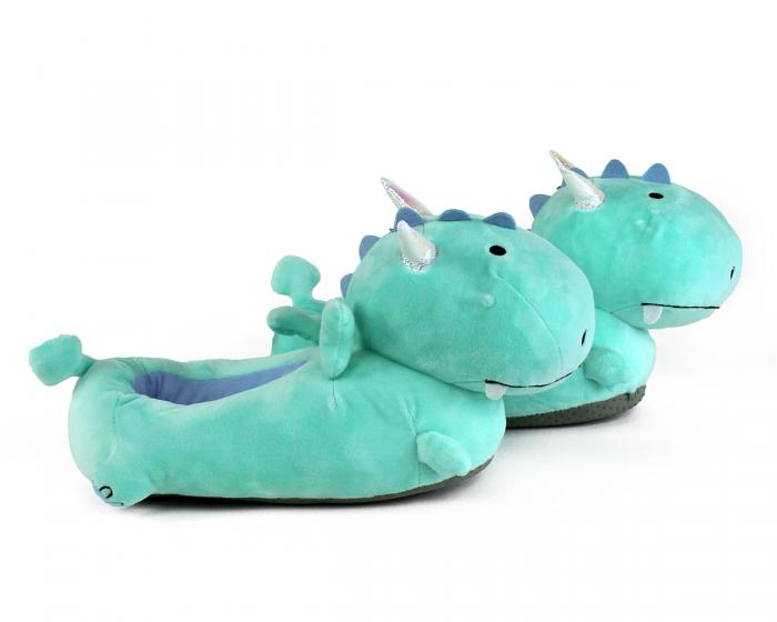 Dragon Light Up Slippers Side View
