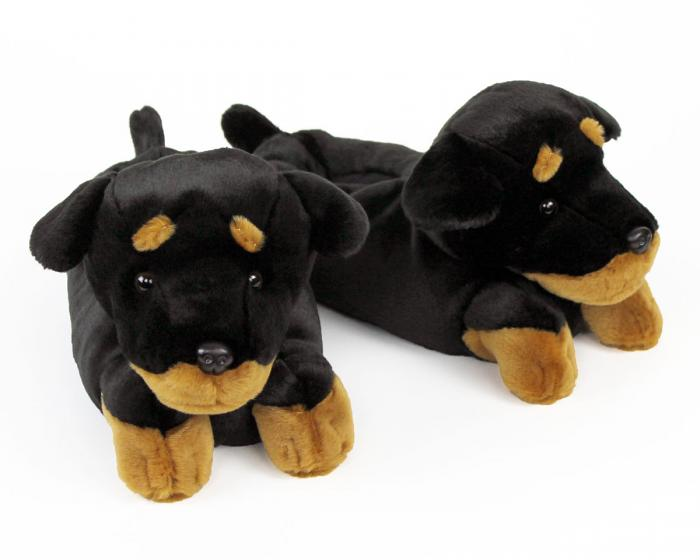Rottweiler Slippers View 1