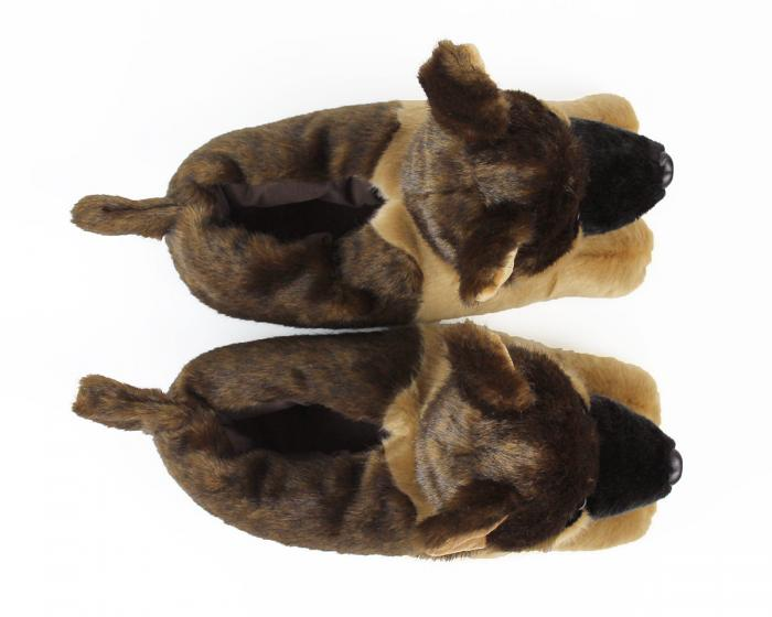 German Shepherd Slippers View 4