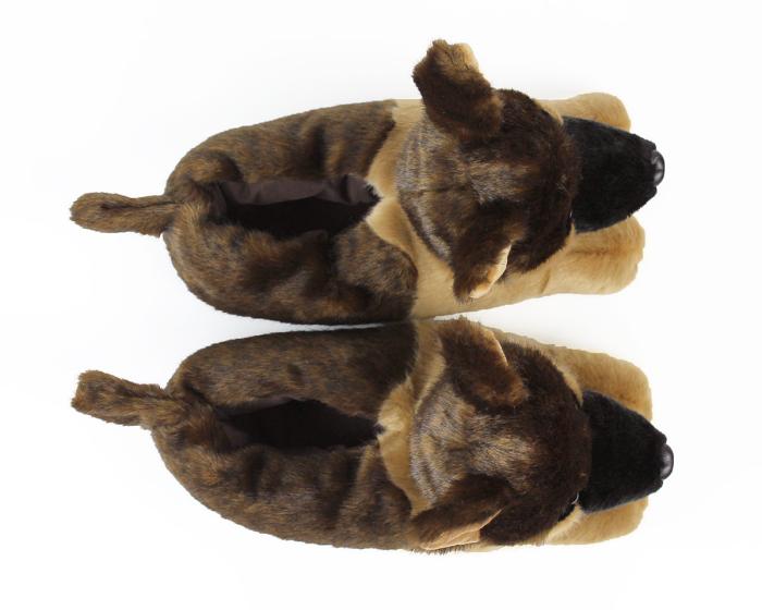 German Shepherd Slippers View 3