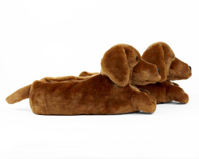 Dachshund Slippers View 2