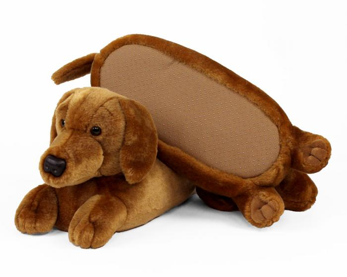 Dachshund Slippers View 3