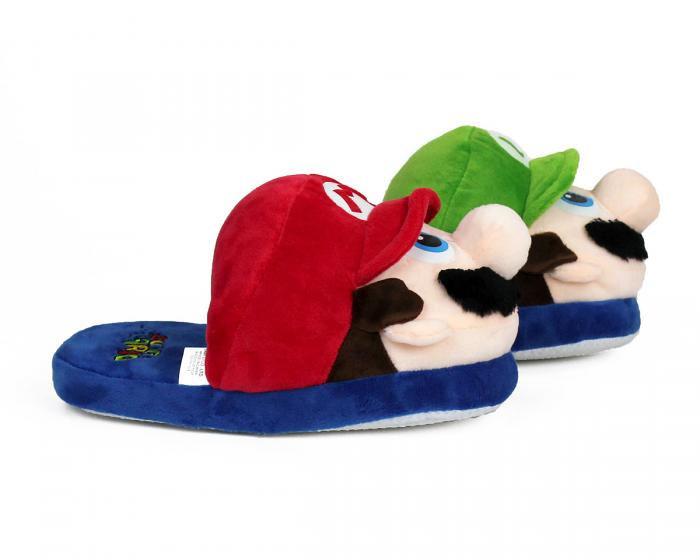 Kids Mario and Luigi Slippers View 2