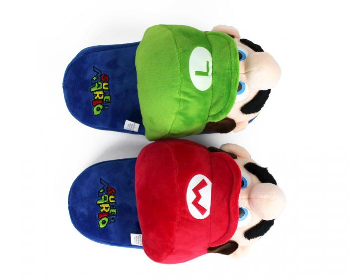 Kids Mario and Luigi Slippers View 3