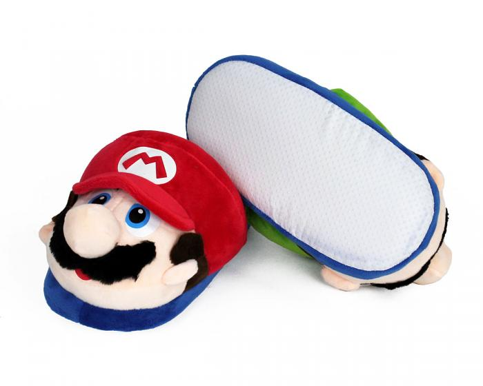 Kids Mario and Luigi Slippers View 4